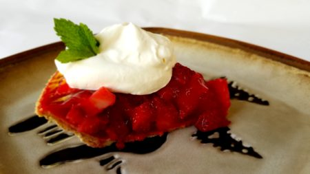 strawberry pie made with Sprite