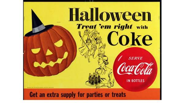 Halloween night Coke