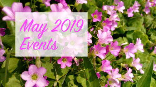 May 2019 events