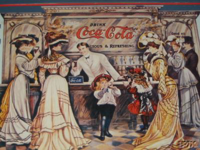 Coca-Cola Soda Fountain Art