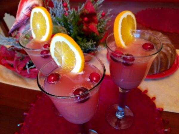 Holiday Punch using Sprite