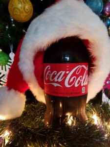 Coca-Cola: perfect for Christmas spirit.
