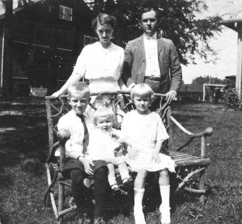 Mayme Williams Mauldin and family