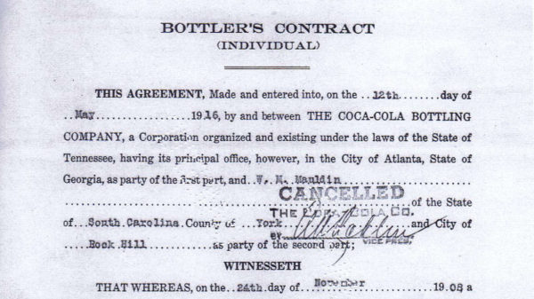 1916 contract