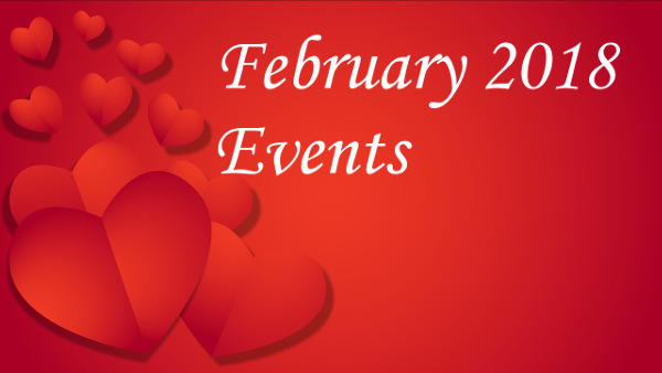 February 2018 events
