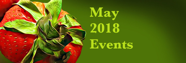May 2018 events