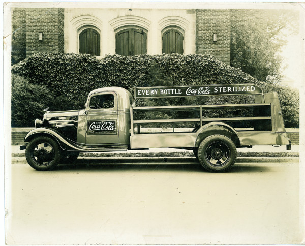 1930s Rock Hill Coke Truck