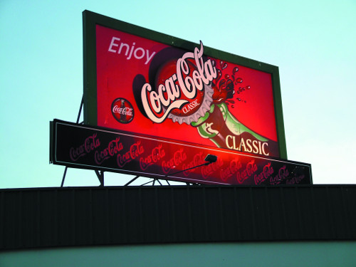 Rock Hill Coke sign