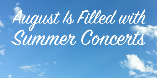 summer concert series featured image