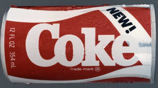 New Coke can ad 1985